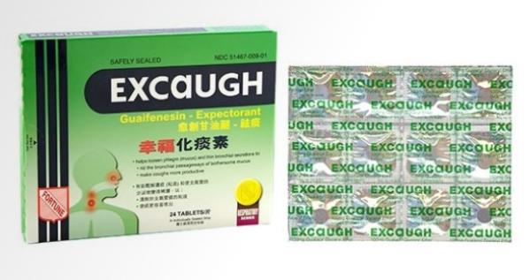 幸福傷化痰素 Coltalin Excaugh Tablets - 36 tablets