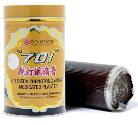 701 跌打镇痛膏(罐庄) 701 Dieda Zhentong Yaogao (Can) -1 plaster x 157 inches